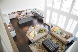 River Park Living Room View