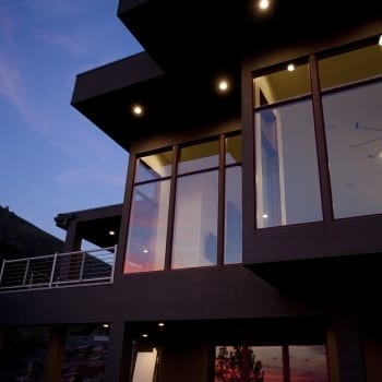 Valley View Night Exterior 2