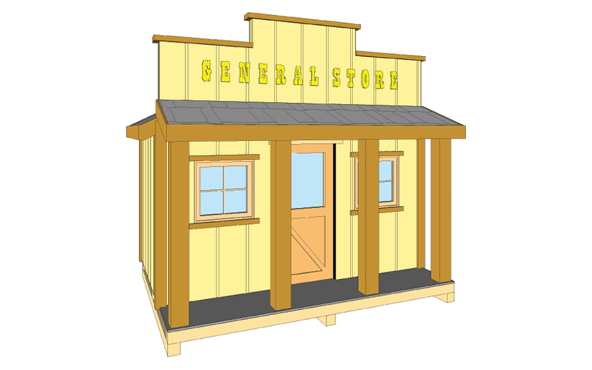 General store walker home design for Walker home design
