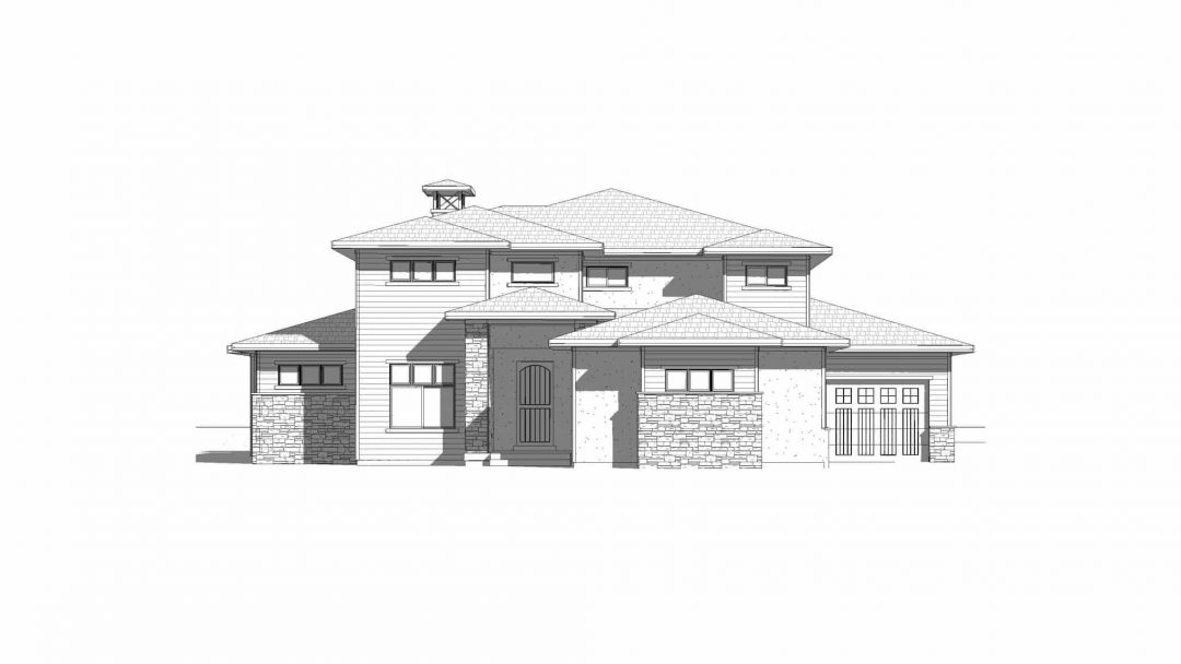 Tacoma - Prairie front elevation