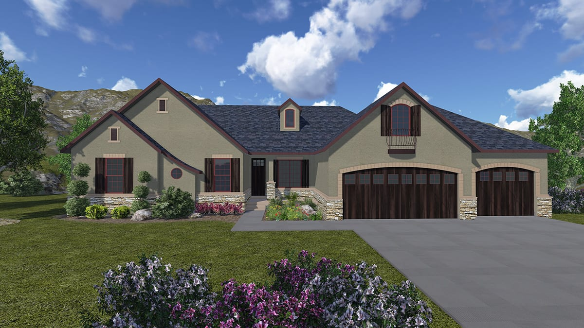 Dover walker home design for Walker home design