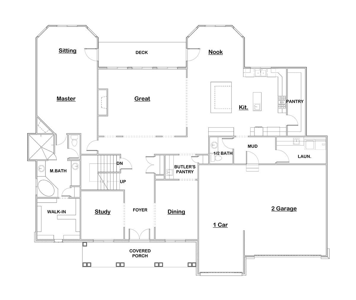 Sierra Villa Walker Home Design