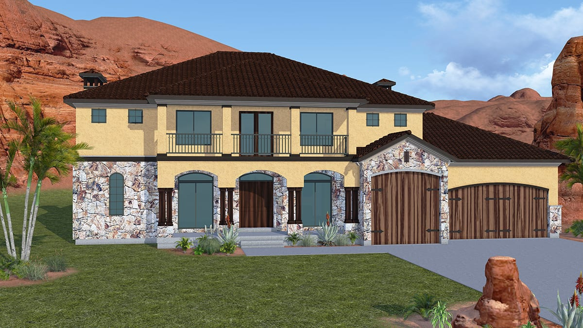 Sierra Villa Walker Home Design