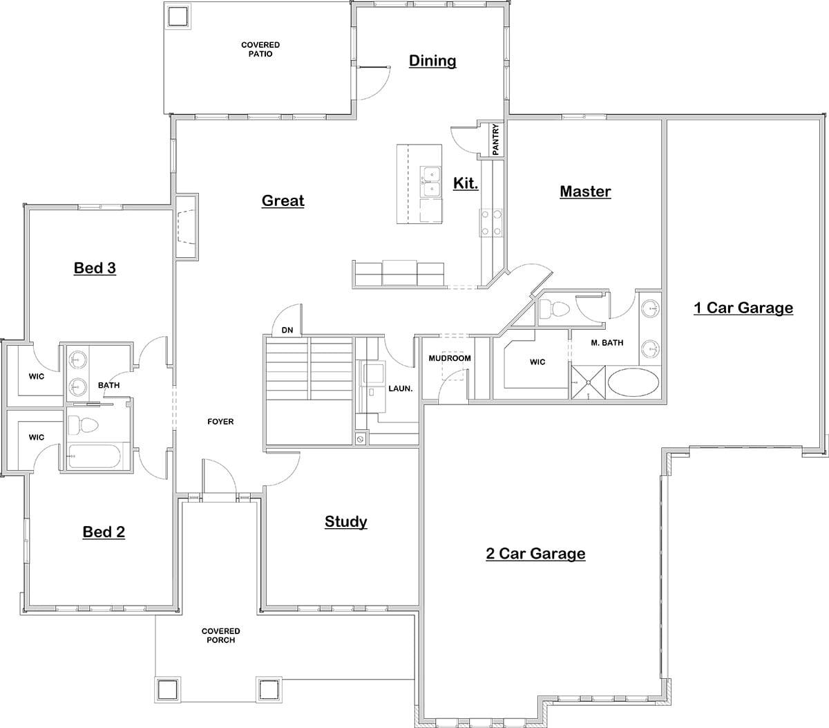 Oceanside walker home design for Oceanside house plans
