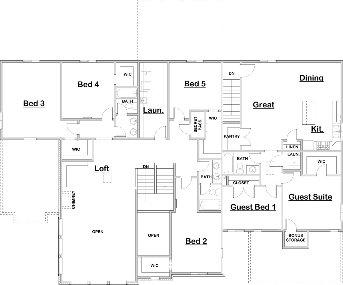 Stone creek walker home design for Stone creek house plan