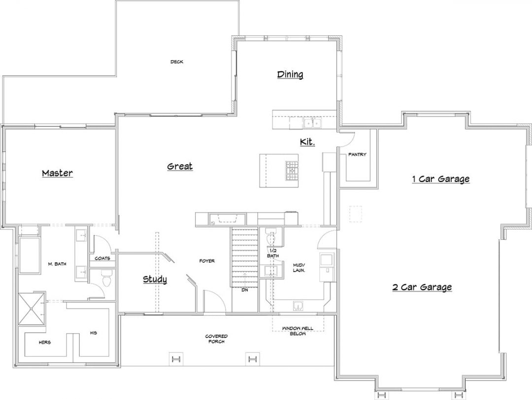 Finsmara-Rambler Main Level Floor Plan