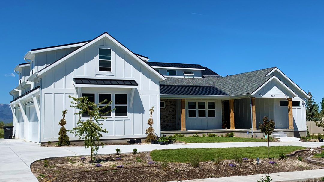 dansen farms house plan exterior finished picture