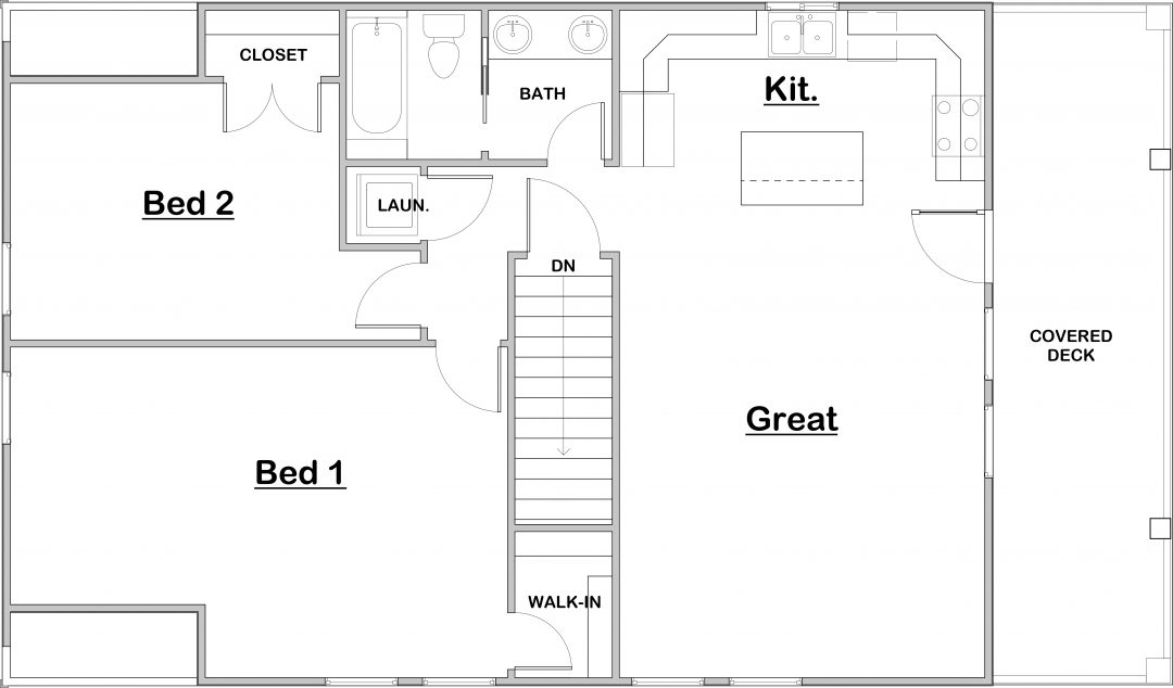 Moreno House Plan Floor Plan