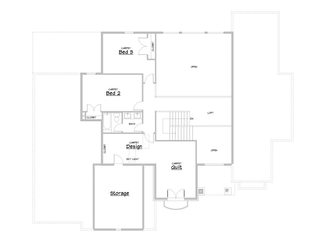 la foret house plan