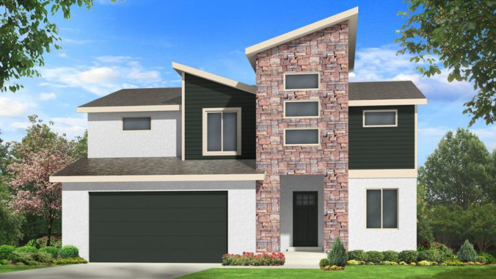 dorsa house plan 3d rendering