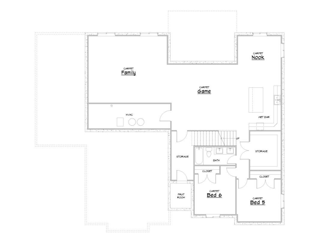 highline house plan