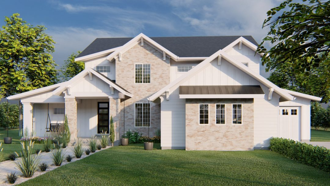 Newgate Modern Farmhouse - Rendering