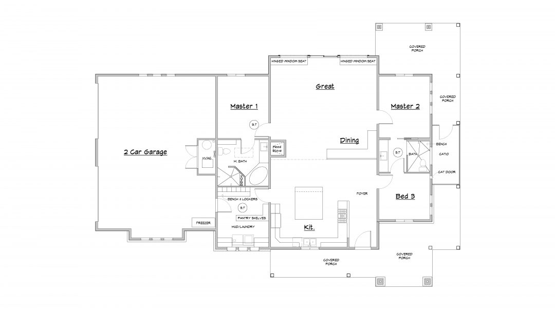 south fork house plan