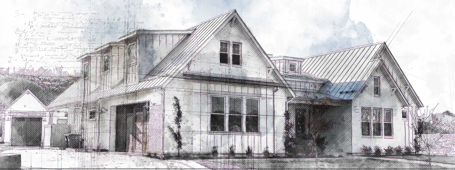 white river house plan exterior finished picture