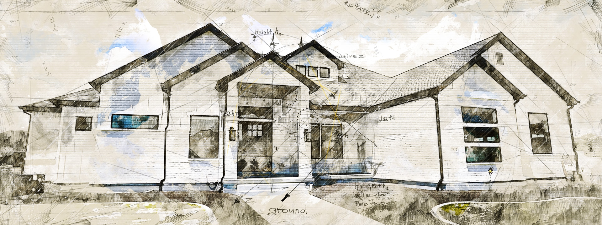 box elder house plan finished picture