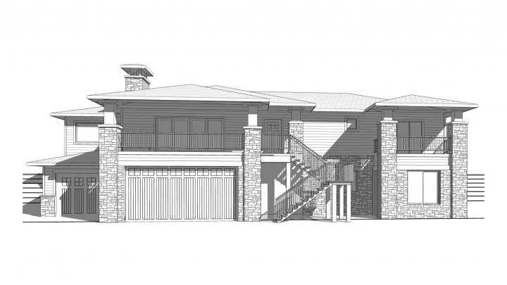 Sand Creek Prairie Elevation Rendering