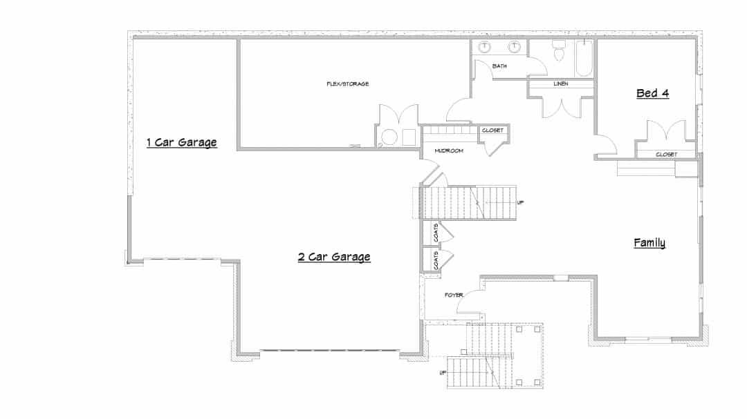 Sand Creek Main Level House Plan