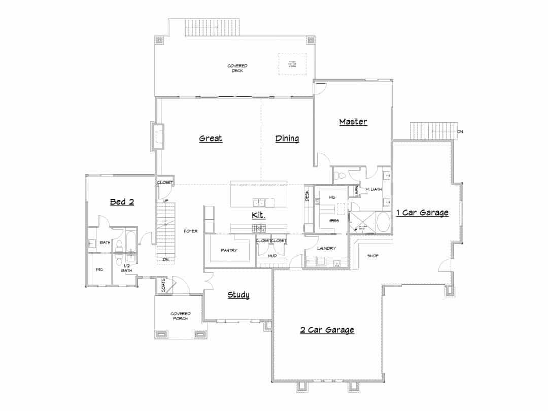 Cedar Pass House Plan