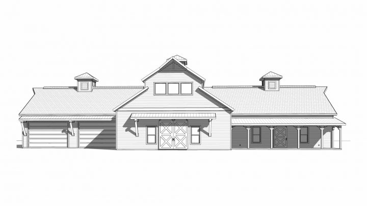 Sports Barn Elevation