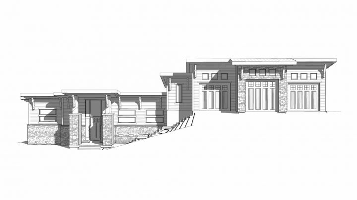 Evergreen House Plan Elevation