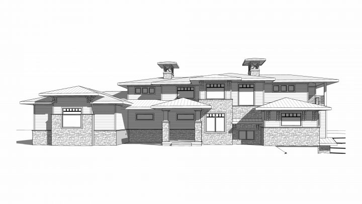 Island Park Elevation House Plan