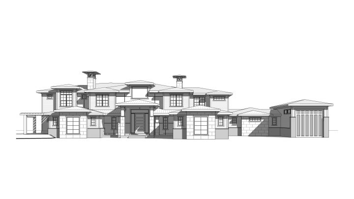 North Canyon Rendering House Plan