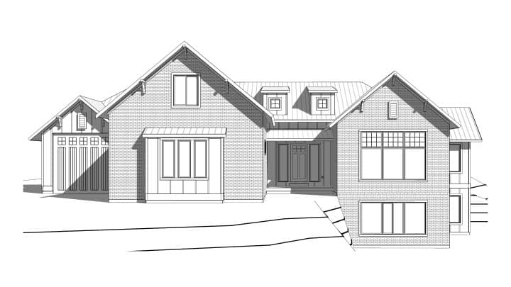 Rose Canyon Rendering House Plan