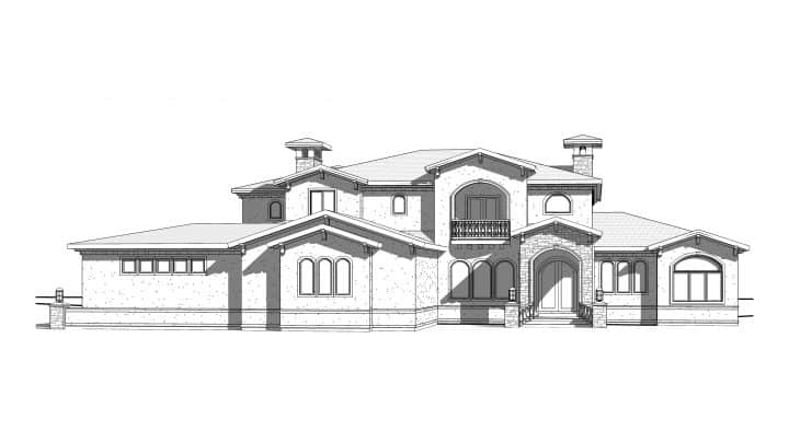 Siena Rendering House Plan