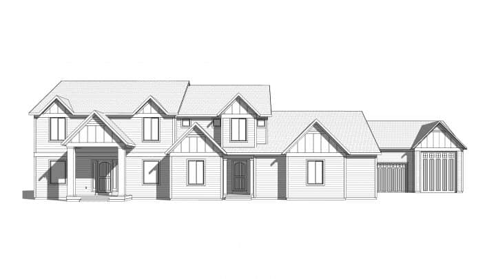Silver Hollow Rendering House Plan