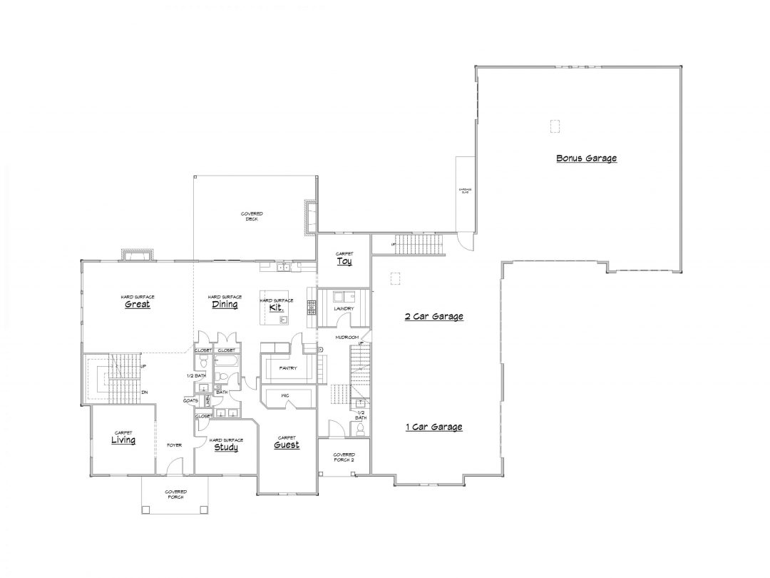 Silver Hollow Main Level House Plan