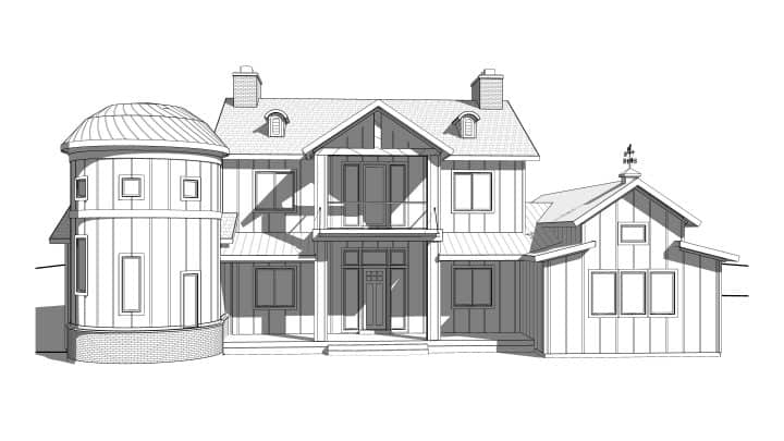 White Springs Rendering House Plan